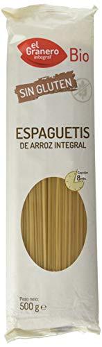 Granero Espaguettis De Arroz Integral S/ Gluten Bio 500Gr Envase De 500 Gramos 500 ml