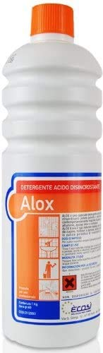Ecosì LES01120001 Detergente Alox Sgrassatore Anticalcare, 1 Litro
