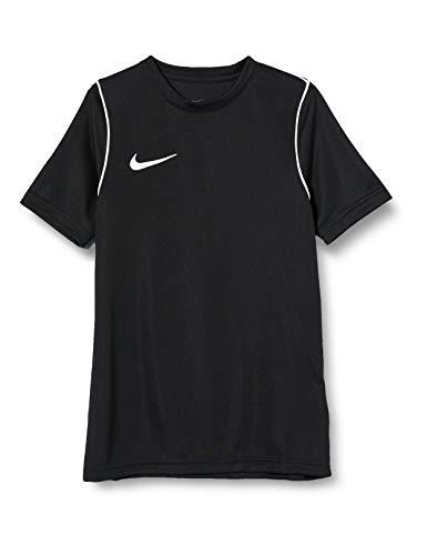 Nike Park 20 T-Shirt Garçon, Noir/Blanc/Blanc, XS