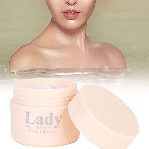 Crema, extractos de plantas. Las marcas de acné se ven crema de piel suave.