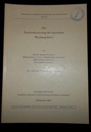 Die Standortkartierung der Hessischen Weinbaugebiete - Heft 50