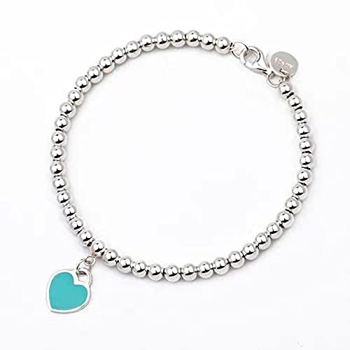 Portonss Ball Beads Little Amor Pulsera Peach Heart Enforma Colgante Temperamen Transfer Transfer Beads