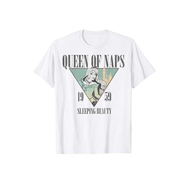 Disney Sleeping Beauty Nap Queen 1959 Graphic T-Shirt T-Shirt