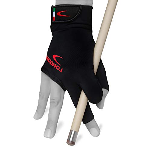 Longoni Black Fire 2.0 Billiard Pool CUE Glove - for Left or...