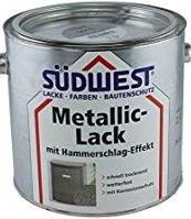 Südwest Metallic-Lack mit Hammerschlag-Effekt, (hammerschlag silber)