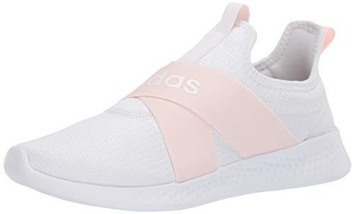 adidas womens Puremotion Adapt,White/Pink Tint/Dove Grey,7.5