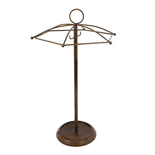 HausderHerzen Regenschirmständer aus Metall, in Schirmform als Schirmständer und Schirmhalter für Regenschirme und Taschenschirme
