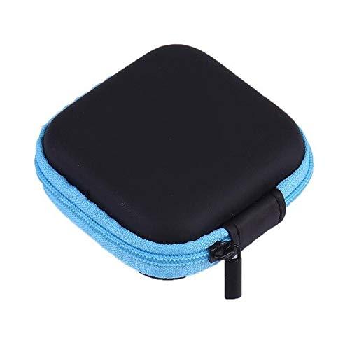 ADSIKOOJF digitale mobiele telefoon oplader datakabel opslag tas Mini draagbare anti-druk oortelefoon opslag doos Zip Lock Organizer Case