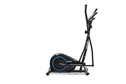 Zipro Erwachsene Magnetischer Crosstrainer Burn bis 120kg Eine Schwungmasse von 8 kg, Schwarz, Einheitsgröße