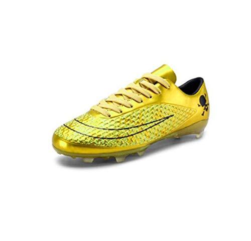 MSSugar Botas de fútbol para Hombre Zapatos de fútbol Zapatos de Entrenamiento para Adolescentes Zapatillas de fútbol Profesionales para Adultos al Aire Libre Juvenil Zapatos de fútbol de competición