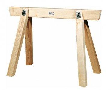 Triuso Bauschragen 150 lang- 120 hoch Gerüstbock Gerüstbock Schrong Schrage Holzbock Bock Werkstattbock