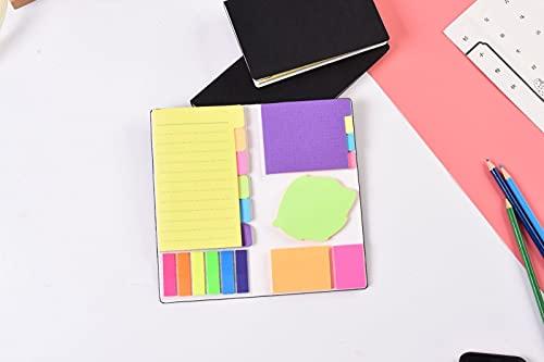 YMHM Cuaderno Diario Lindo Novedad Notas Adhesivas Bloc de Notas índice Pegatina Marcador Página Pegatina Escuela Oficina Material,95 * 76mm