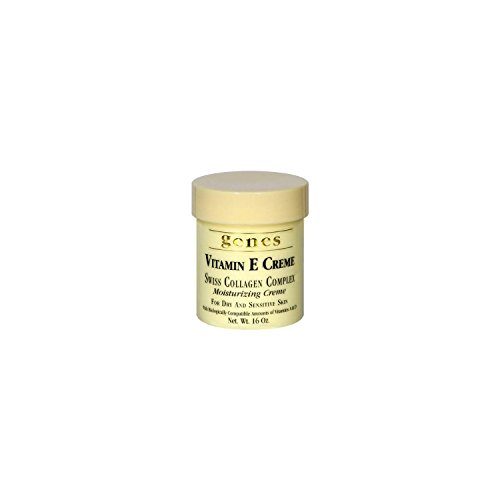 Genes Vitamin E Creme 16 oz. (pack of 3) A1