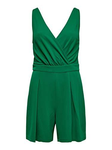 ONLY Damen Overall Grün grün, Grün Large