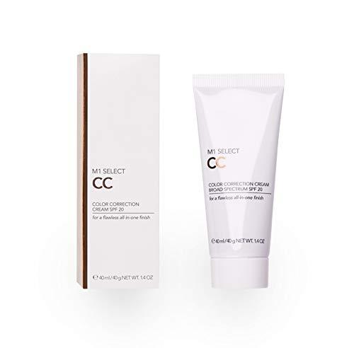 Getönte All-in-One- Tagescreme - CC-Cream LSF20 Make-up-Foundation für jeden Hautton - M SELECT CC CREAM SPF20 40 ml