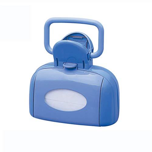 Scoop Portable pour Chien avec Un Sac Poubelle, ramasseur de ramassage Facile à Nettoyer - Bleu
