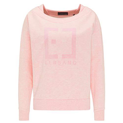 Elbsand Damen Sweatshirt ES FINNIA Bright Rose rosa - M