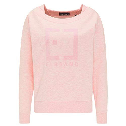 Elbsand Damen Sweatshirt ES FINNIA Bright Rose rosa - L