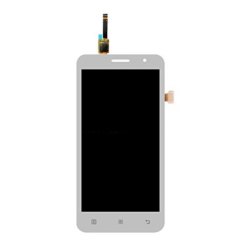 YIHUI Repare Repuestos Pantalla LCD y ensamblaje Completo del digitalizador for Lenovo A8 / A806 / A808T Partes de refacción (Color : White)