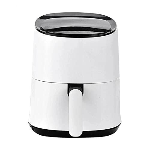 Freidora de Aire Freidora De Aire Elegante App Control 130 0W LCD Toque Control Free- Free Air Fryer Horno Reemplace la Freidora (Color : White, Size : 2.5L)
