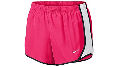 Nike Kids Girl's Dry Tempo Running Short (Little Kids/Big Kids) Racer Pink/White/Black/White LG (14 Big Kids)