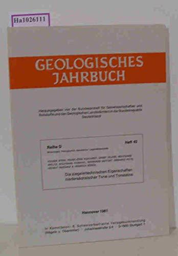 Die ziegeleitechnischen Eigenschaften niedersächsischer Tone und Tonsteine. Hrsg. von der Bundesanstalt für Geowissenschaften und Rohstoffe und den Geologischen Landesämtern in der Bundesrepublik ...