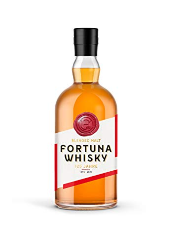Blended Malt Whisky - Jubiläums Whisky - Limitierte Edition (999 Stück) - Fortuna Whisky (1 x 0,5l)