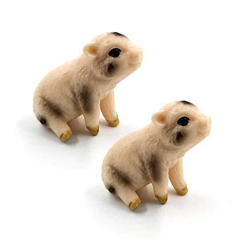 Yoin Kunstmatige Papegaai vogel Fox Bever beeldje Bonsai dier Model home decor miniatuur fee tuindecoratie accessoires standbeeld