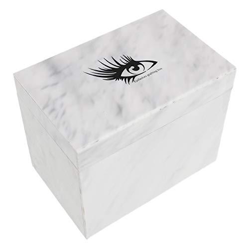 SNOWINSPRING Greffage Cils Bo?Te de Rangement Acrylique Palette Porte-Cils PréSentoir Individuel Maquillage CosméTiques Extension de Cils