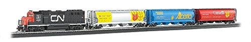 Bachmann Trains - Harvest Express Ready To Run Electric Train Set - HO Scale