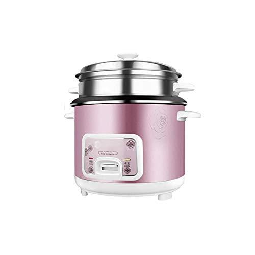 KSW_KKW Riz CookerHome Isolation Intelligente Multi-Fonction de la qualité intérieure Pot cuillère à Vapeur et Une Tasse de Mesure Dortoir Petit électroménager (容量 Capacity : 2L)