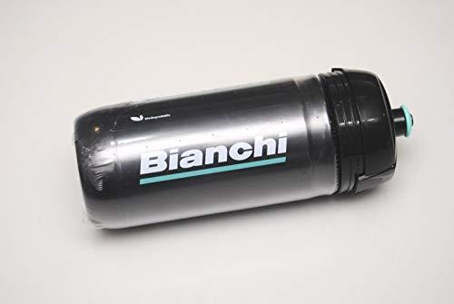 Bianchi Trinkflasche CORSA BIO 2019 by Elite 550 ml Schwarz mit weißem Logo C9010138