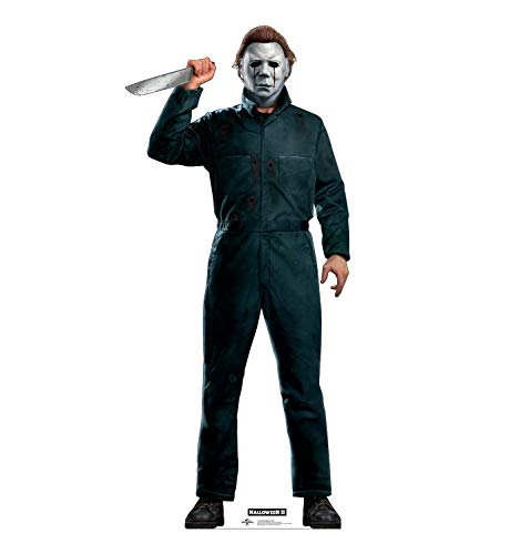 Advanced Graphics Mike Myers with Knife Life Size Cardboard Cutout Standup - Halloween II (1981...
