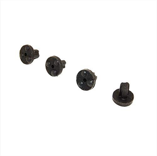 Lot de 4 patins caoutchouc grille Plaque de cuisson WFS88511, 481246368017 WHIRLPOOL