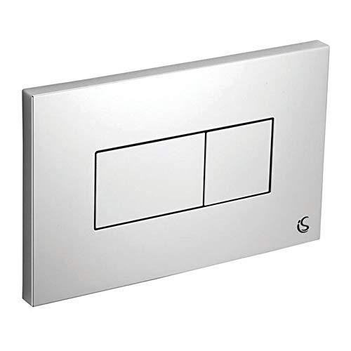 Ideal Standard E4465GN Dual Flush Plate Satin Chrome