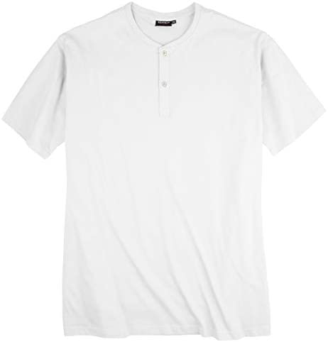 Redfield XXL Camiseta blanca con banda de botones