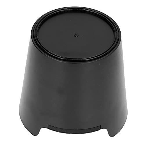 Caja de molido de café, herramienta práctica Caja de golpe de café ABS de alta calidad para la mayoría de las cafeteras semiautomáticas(negro)