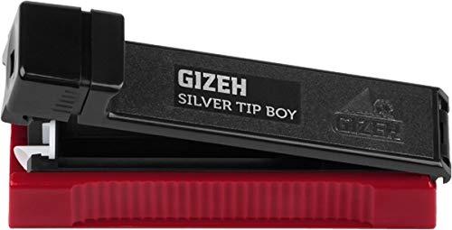 3x GIZEH Silver Tip Boy Stopfmaschine Zigarettenstopfer
