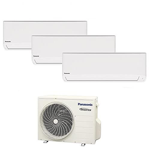 Climatizzatore trial split serie TZ super compatta R32 PANASONIC 9000+9000+9000 - WiFi integrato