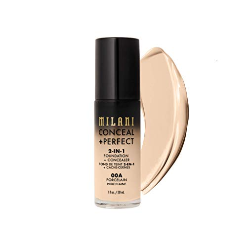 MILANI Conceal + Perfect 2-In-1 Foundation + Concealer - Porcelain