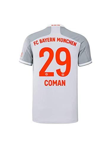 FC Bayern München Kinder Away-Trikot Auswärts Saison 2020/21, Gr. 140, Kingsley Coman