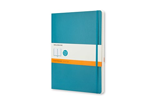 Moleskine Classic - Cuaderno de tapa blanda, color azul verdoso
