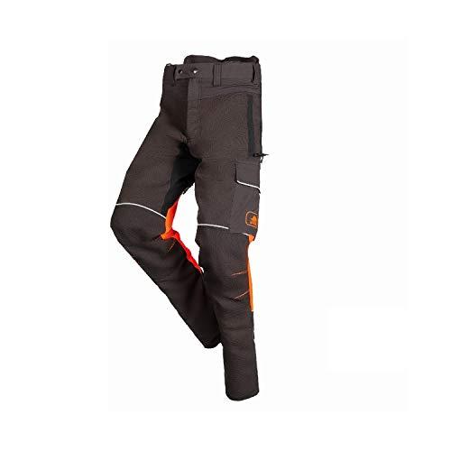 SIP PROTECTION Herren SIP Schnittschutzhose SAMOURAI Bundhose, XL