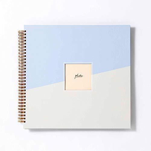 いろは出版 ましかくアルバム大容量 写真 378枚収納【スカイ】L-GAL2-04