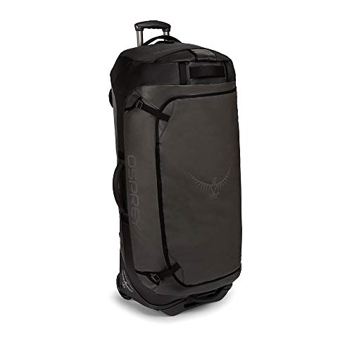 Osprey Europe Rolling Transporter 120 Unisex Durable Wheeled Travel Pack - Black (O/S)