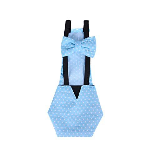 Shefii - Pañal ajustable de algodón lavable para mascotas de granja