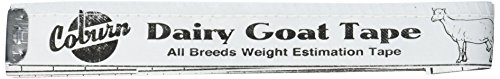 Coburn Dairy Goat Weigh Tape - 54""