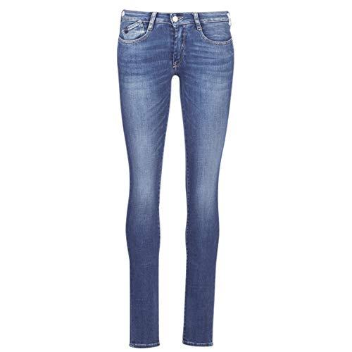Le Temps des Cerises Power Jeans Femmes Blau - DE 32 (US 24) - Röhrenjeans