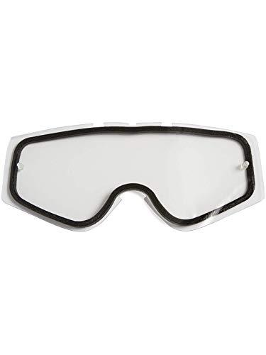 O'NEAL | Gafas de Motocross de repuesto | Enduro de motocicleta | Antivaho, Gafas de doble lente de repuesto B-Zero, Pines de arranque | Transparente | Un tamaño
