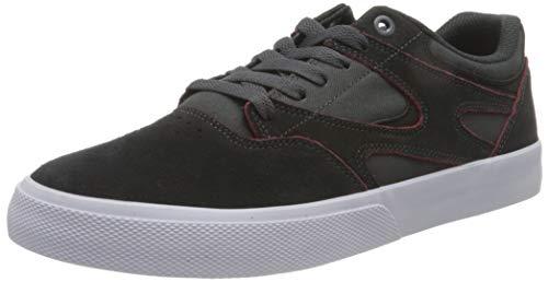 DC Shoes Kalis Vulc S - Zapatillas de Skate de Cuero - Hombre - EU 40.5